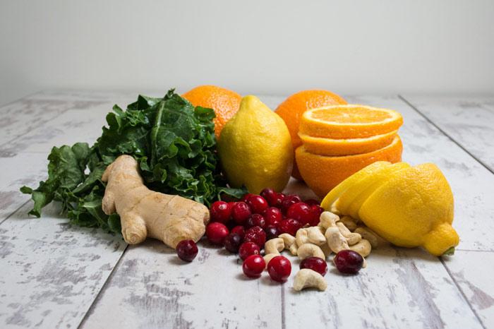 food-eat-vegetarean-ingwer-ginger-orange-lemon-nuts-healthy-nutrition